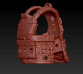 Planet Green Valley Male 3D Sculpt Updates - Surveillance Port 14