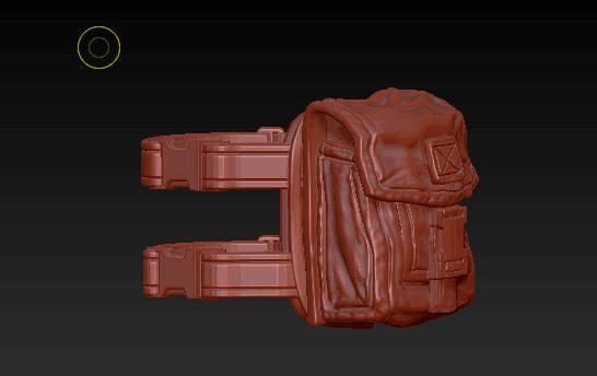 Planet Green Valley Male 3D Sculpt Updates - Surveillance Port 29