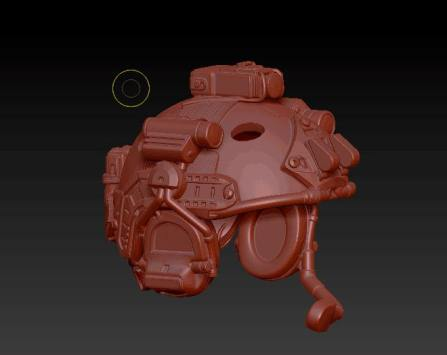 Planet Green Valley Male 3D Sculpt Updates - Surveillance Port 30