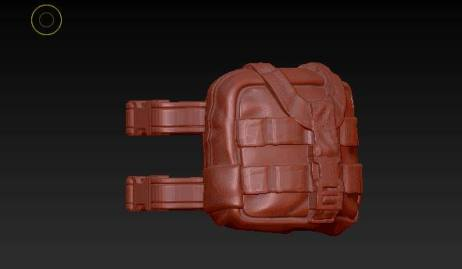 Planet Green Valley Male 3D Sculpt Updates - Surveillance Port 32