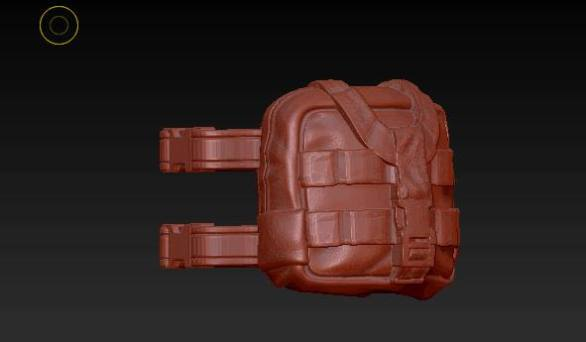 Planet Green Valley Male 3D Sculpt Updates - Surveillance Port 32