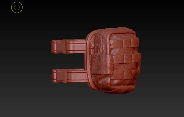 Planet Green Valley Male 3D Sculpt Updates - Surveillance Port 34