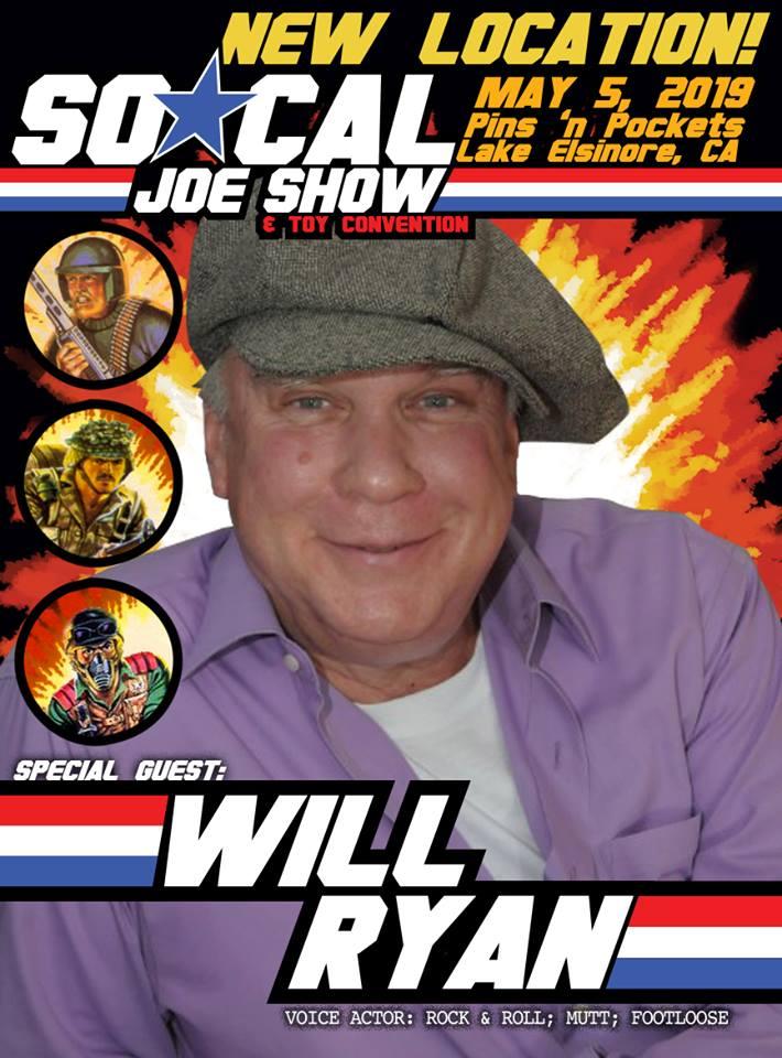 SoCal Joe Show Will Ryan Banner - Surveillance Port