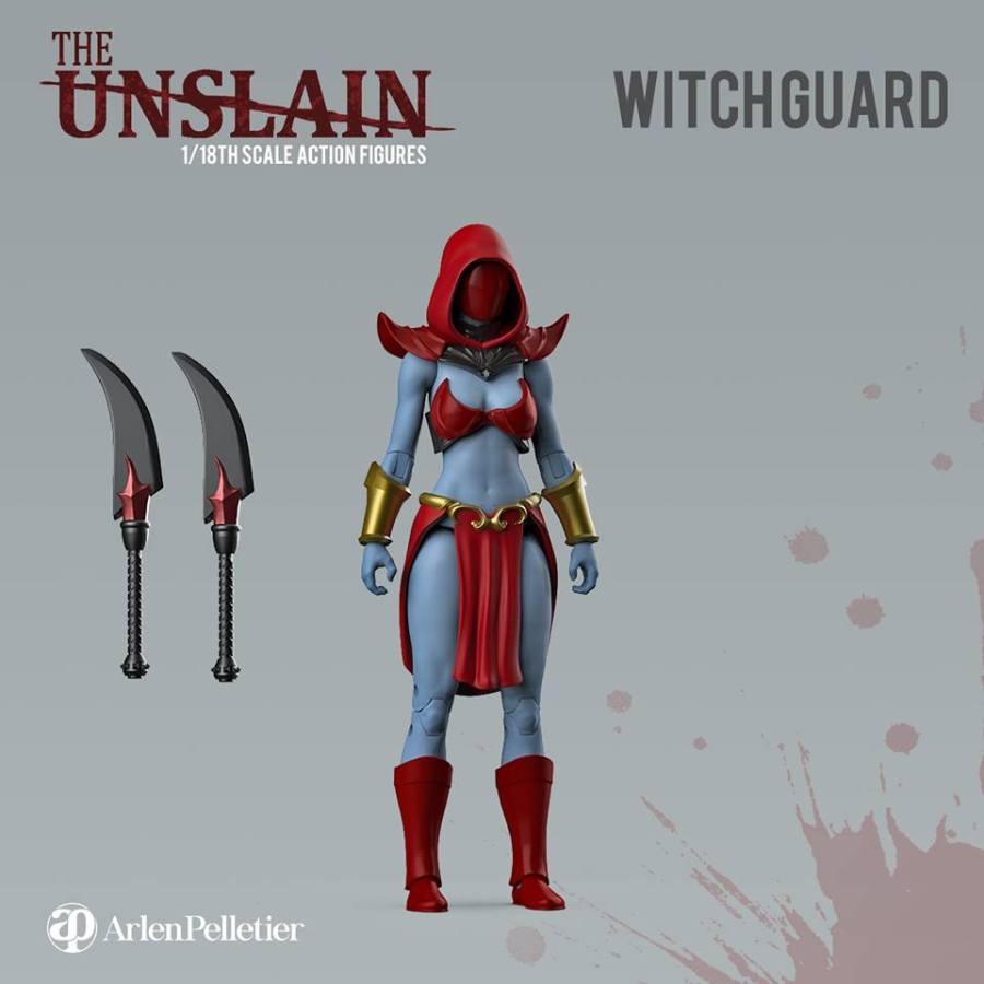 The Unslain Witchguard - Surveillance Port