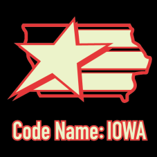 Codename Iowa Night Force Logo - Surveillance Port