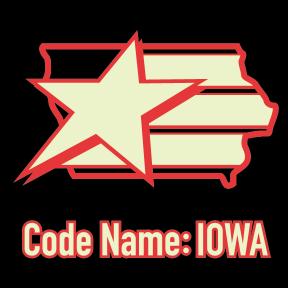 Codename Iowa Night Force Logo - Surveillance Port