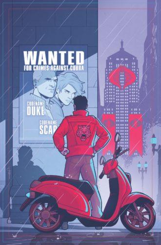 IDW Publishing GI Joe Comic - Surveillance Port