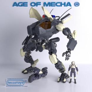 TeccoToys Age of Mecha Police Mech 02 - Surveillance Port