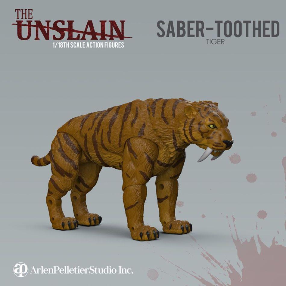 The Unslain Saber-Toothed Tiger Stretch Goal - Surveillance Port