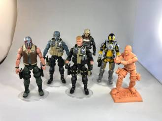 ValaVerse Action Force Figures 01 - Surveillance Port