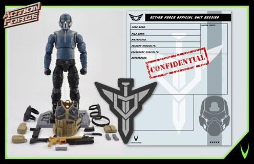 ValaVerse Action Force Steel Brigade 01 - Surveillance Port