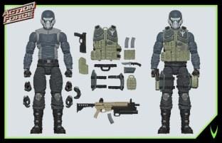 ValaVerse Action Force Steel Brigade 03 - Surveillance Port