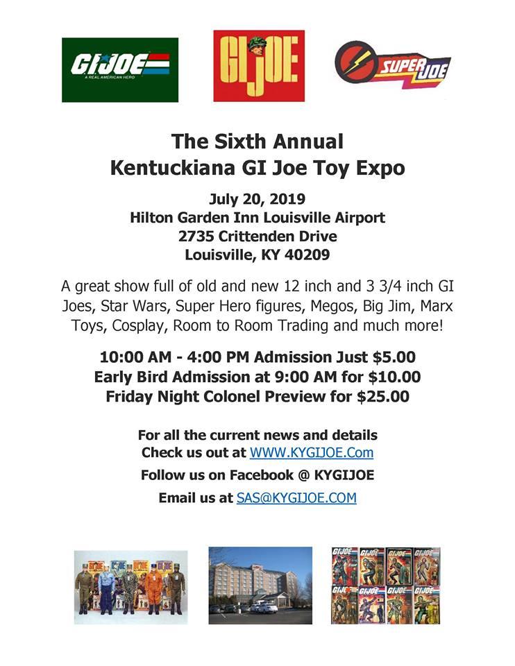 6th Annual Kentuckiana GI Joe Toy Expo - Surveillance port