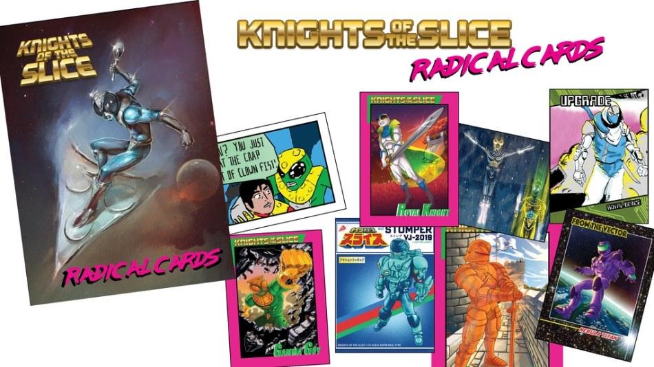 Drawn Word Knights of the Slice Card Set Kickstarter - Surveillance port (0)