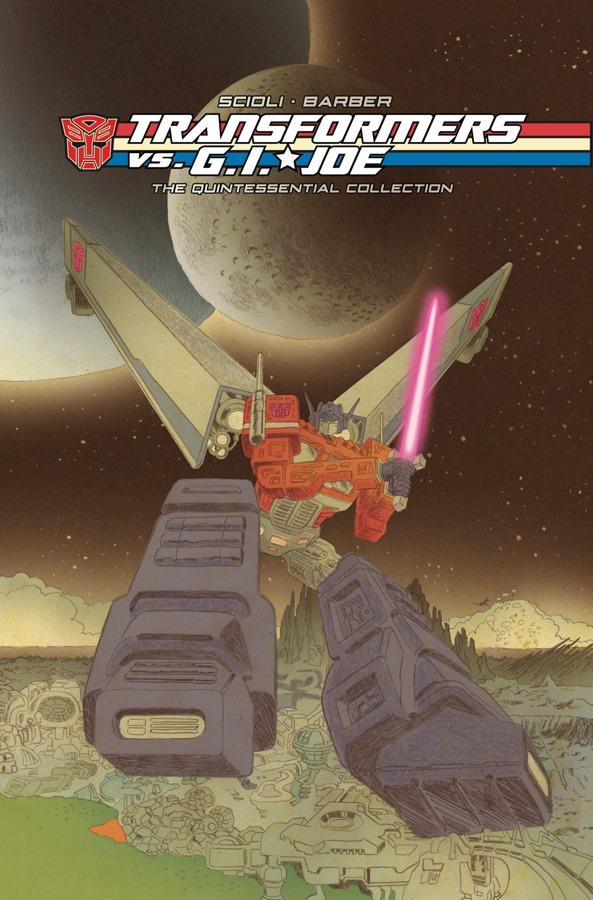 IDW Publishing Transformers vs GI Joe Tom Scioli Hardcover - Surveillance Port
