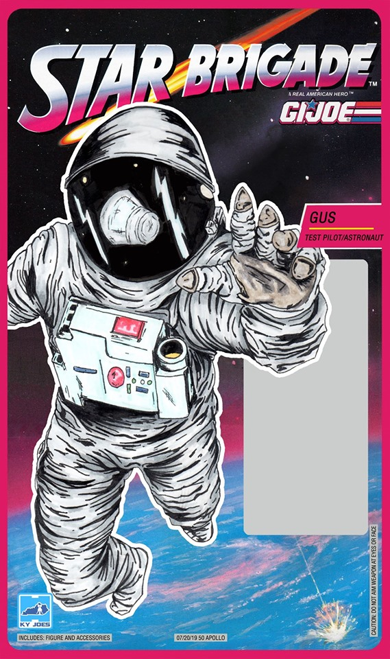 Kygijoe Exclusive Star Brigade Gus Card Art - Surveillance Port 01