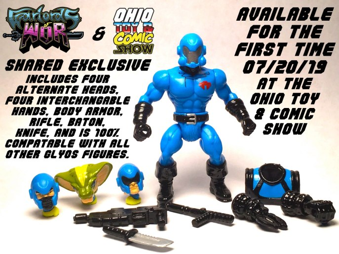 Ohio Toy and Comic Show Shared Exclusive Captain Cobrus - Surveillance Port 01