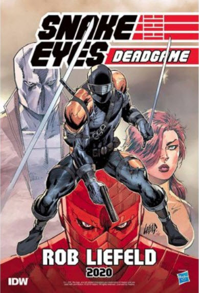 Rob Liefeld Snake Eyes Deadgame - Surveillance Port 01