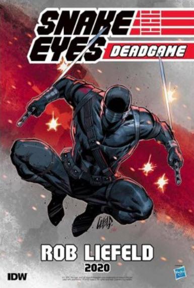 Rob Liefeld Snake Eyes Deadgame - Surveillance Port 02