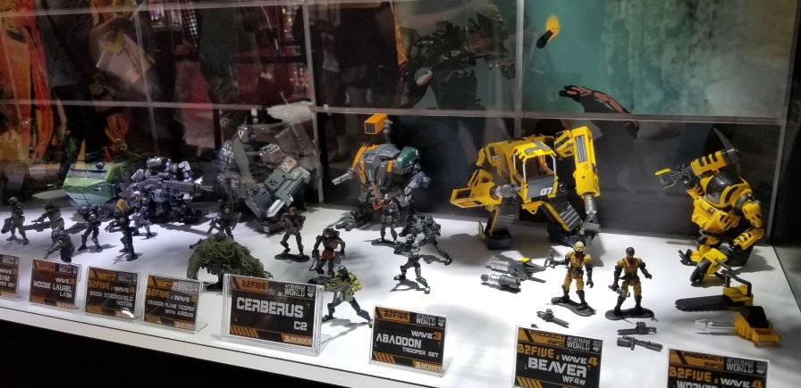 SDCC 2019 Acid Rain World Booth - Surveillance Port 06