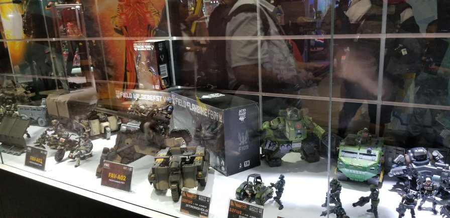 SDCC 2019 Acid Rain World Booth - Surveillance Port 07