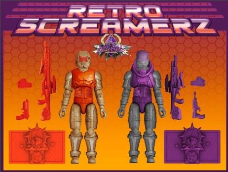 Sunok Studios Hell Screamerz Retro Screamerz 2 Pack - Surveillance Port