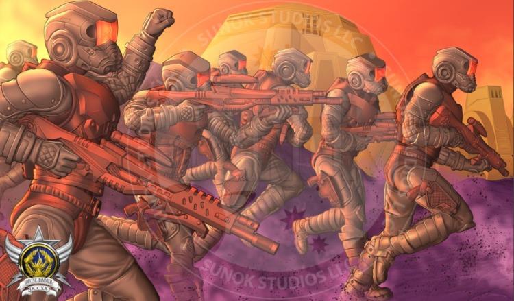 Sunok Studios Hell Screamerz Retro Screamerz - Surveillance Port (2)