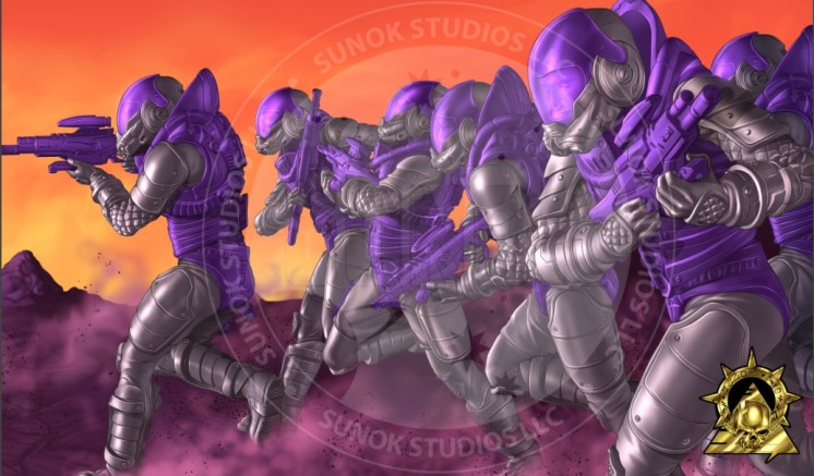 Sunok Studios Hell Screamerz Retro Screamerz - Surveillance Port (4)