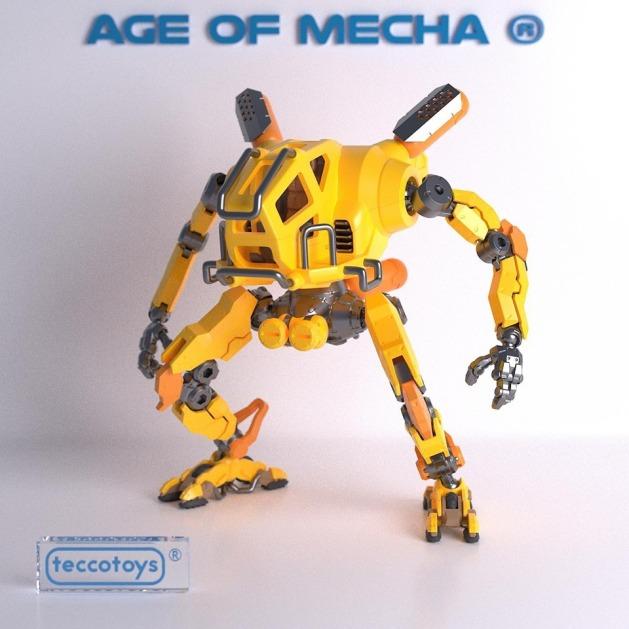 Tecco Toys Age of Mecha Construction Mech - Surveillance Port 01
