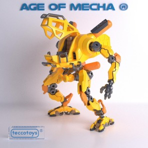 Tecco Toys Age of Mecha Construction Mech - Surveillance Port 02