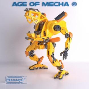 Tecco Toys Age of Mecha Construction Mech - Surveillance Port 02