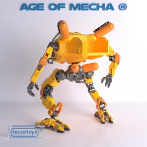 Tecco Toys Age of Mecha Construction Mech - Surveillance Port 03