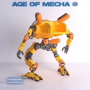 Tecco Toys Age of Mecha Construction Mech - Surveillance Port 03