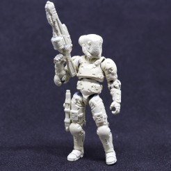 TeccoToys Age of Mecha Bounty Hunter Prototype - Surveillance Port 06