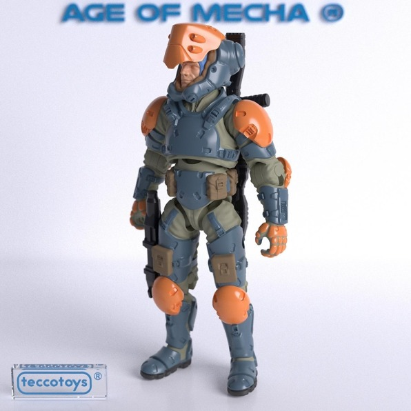 TeccoToys Age of Mecha Bounty Hunter Render - Surveillancce Port 01