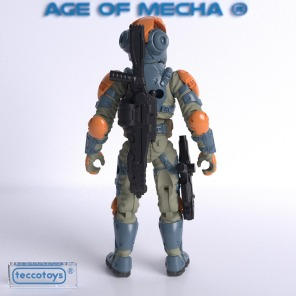 TeccoToys Age of Mecha Bounty Hunter Render - Surveillancce Port 03