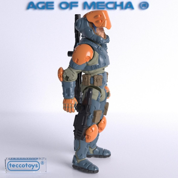 TeccoToys Age of Mecha Bounty Hunter Render - Surveillancce Port 04