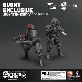 Toynami Toys Alliance Acid Rain SDCC 2019 Exclusive Stealth Talos HR15e - Surveillance Port