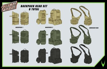 ValaVerse Action Force Accessory Pack - Surveillance Port 02
