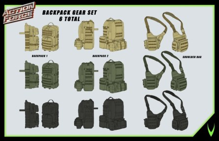 ValaVerse Action Force Accessory Pack - Surveillance Port 02