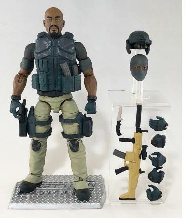ValaVerse Action Force Down Range - Surveillance Port 01