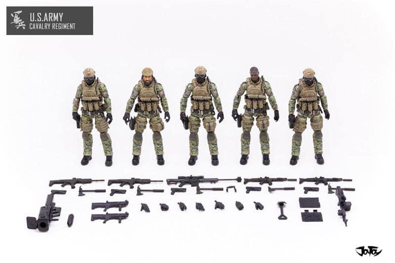 Joy Toy 118 Scale U.S. Army Calvary Regiment - Surveillance Port 09