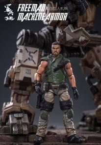 Joy Toy Dark Source 118 Scale Freeman Machine Armor - Surveillance Port 01