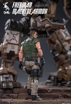 Joy Toy Dark Source 118 Scale Freeman Machine Armor - Surveillance Port 02