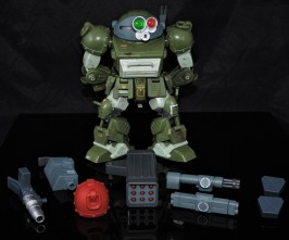 B2FIVE VOTOMS SERIES RED SHOULDER CUSTOM ATM-09-RSC (10)