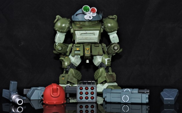 B2FIVE VOTOMS SERIES RED SHOULDER CUSTOM ATM-09-RSC (11)