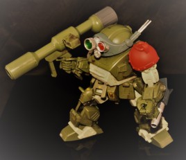 B2FIVE VOTOMS SERIES RED SHOULDER CUSTOM ATM-09-RSC (67)