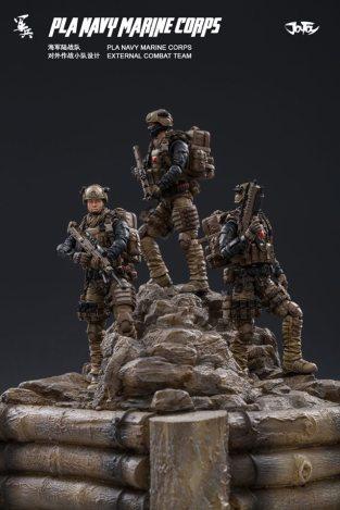 Joy Toy Pla Navy Marine Corps and Dio - Surveillance Port 01