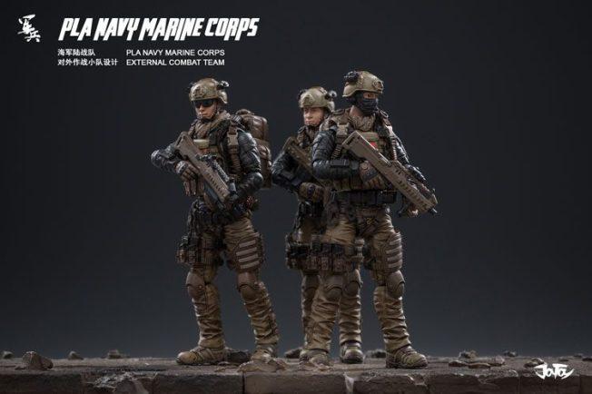 Joy Toy Pla Navy Marine Corps and Dio - Surveillance Port 10