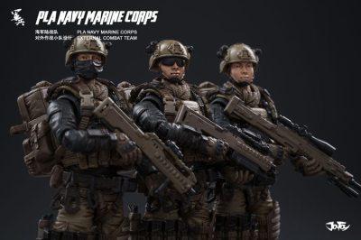 Joy Toy Pla Navy Marine Corps and Dio - Surveillance Port 15